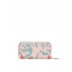 Zip Wallet mit Tropical-Print by s.Oliver Red Label