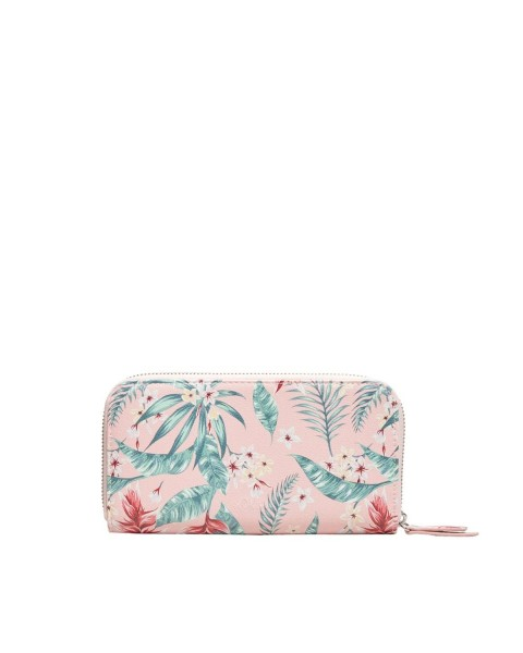 Zip purse with a tropical print by s.Oliver Red Label