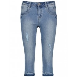Capri jeans with stretch for comfort by Taifun