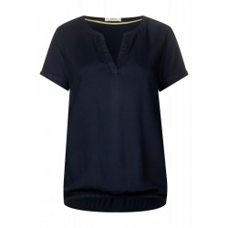 Materialmix Bluse by Cecil