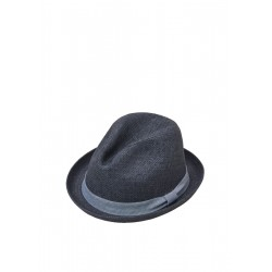 Woven hat in a trilby style by s.Oliver Red Label
