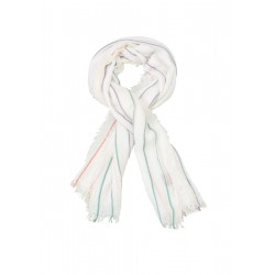 Lightweight woven scarf with stripes by s.Oliver Red Label