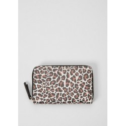 Zip purse in a leopard look by s.Oliver Red Label