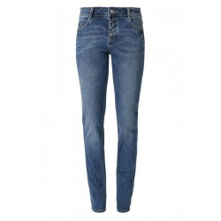 Smart Straight: Jeans mit Knopfleiste by s.Oliver Red Label