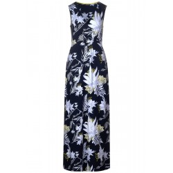 Maxi Kleid mit Blumenprint by Street One