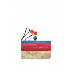 Bunte Bast-Pouch  by s.Oliver Red Label