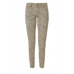 Shape Ankle: Trousers with a leopard print by s.Oliver Red Label