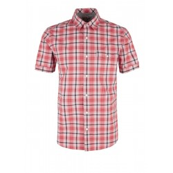 Regular: Check shirt by s.Oliver Red Label