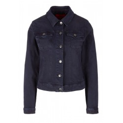 Denim jacket with stitching details by s.Oliver Red Label