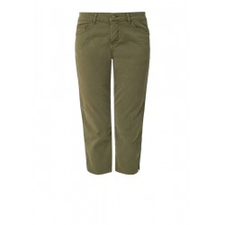 Shape Capri: stretch twill trousers by s.Oliver Red Label