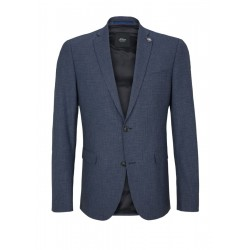 Slim: stretch sports jacket by s.Oliver Black Label