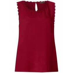 Top with floral lace by Street One