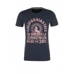Slim: T-Shirt mit Surfer-Print by s.Oliver Red Label