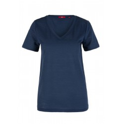 Jerseyshirt mit Transparenz-Effekt by s.Oliver Red Label
