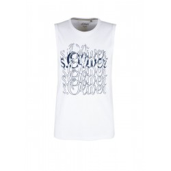 Logo vest top by s.Oliver Red Label