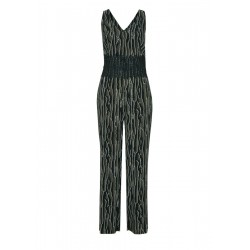 Jumpsuit with a lace trim by s.Oliver Black Label