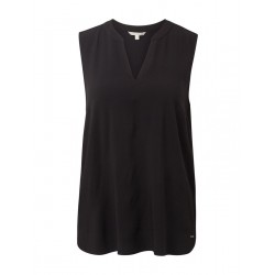 Sleeveless blouse by Tom Tailor Denim