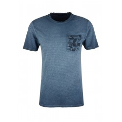 T-Shirt in Cold Pigment Dye by s.Oliver Red Label