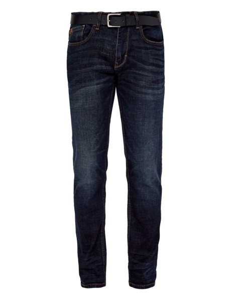 Tubx Regular: jeans with a belt by s.Oliver Red Label