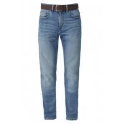 Close Slim: jeans with a belt by s.Oliver Red Label