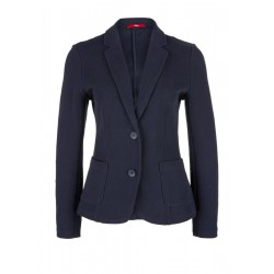 Sweat-Blazer mit Strukturmuster by s.Oliver Red Label