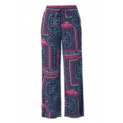 Marlene trousers with a paisley pattern by s.Oliver Red Label