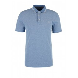 Slim: melange polo shirt by s.Oliver Red Label