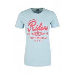 Slim: T-shirt with a retro print by s.Oliver Red Label