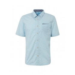 Short sleeve shirt with chest pocket by Tom Tailor