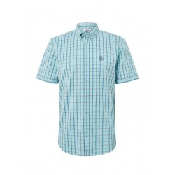 Chequered short-sleeved shirt by Tom Tailor