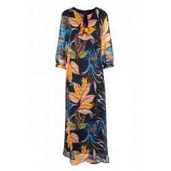 Maxikleid mit Tropical-Print by s.Oliver Red Label