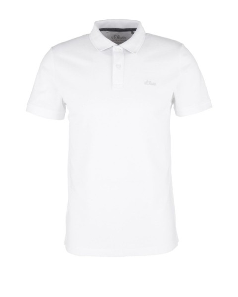 Cotton piqué polo shirt by s.Oliver Red Label
