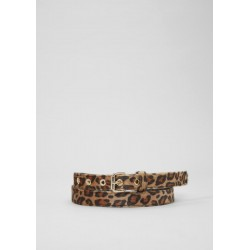 Fake fur belt in a leopard print look by s.Oliver Red Label