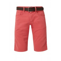 Close Slim: Bermuda shorts with a belt by s.Oliver Red Label