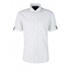Regular: Shirt with minimal pattern by s.Oliver Red Label