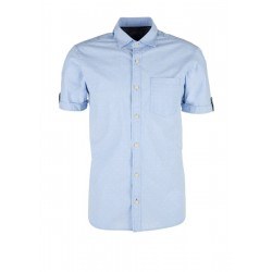 Regular: shirt with a textured pattern by s.Oliver Red Label