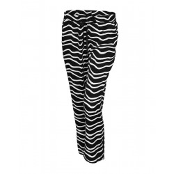 Trousers with print Mahal zebra by Opus