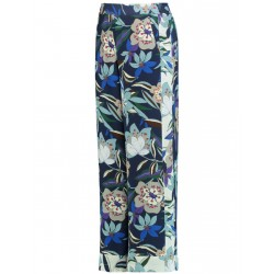 Trousers with a floral print by Gerry Weber Collection