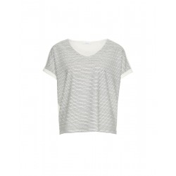 Shirt with V-neck Suminchen zigzag by Opus
