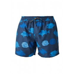 Swim shorts with printed motif by s.Oliver Red Label