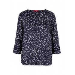 Patterned O-shaped blouse by s.Oliver Red Label
