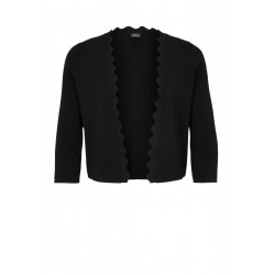 Cardigan with scalloped edge by s.Oliver Black Label