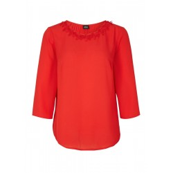 Blouse with a pleated effect by s.Oliver Black Label