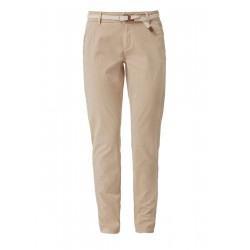 Smart Chino: trousers with a belt by s.Oliver Red Label
