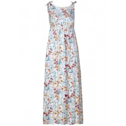 Maxi dress with floral print by Cecil
