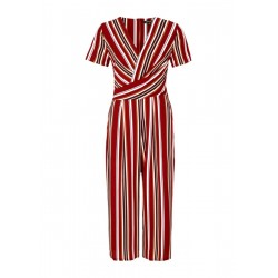 Striped overall by Comma