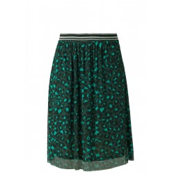 Mesh skirt with an all-over print by s.Oliver Red Label