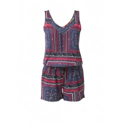Playsuit with printed pattern by s.Oliver Red Label