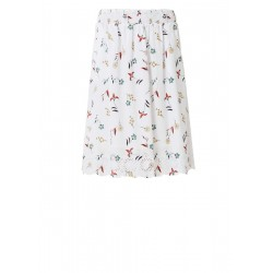 Midi skirt with broderie anglaise by s.Oliver Red Label