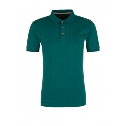 Jersey top with a polo collar by s.Oliver Red Label